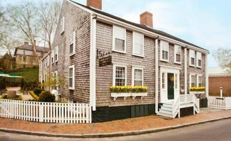 The Union Street Inn on Nantucket, ranked by TripAdvisor as the best small hotel in the United States for 2017.